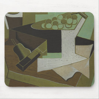 Juan Gris - Bunch of Grapes and Pear Mouse Pad