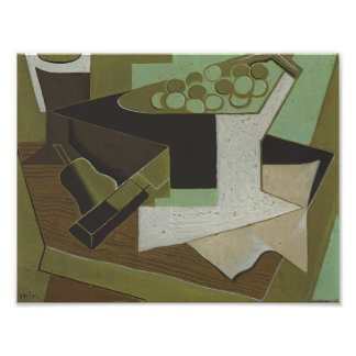 Juan Gris - Bunch of Grapes and Pear Photo Print