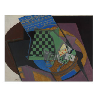 Juan Gris - Checkerboard and Playing Cards