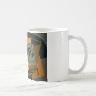 Juan Gris - Chessboard, Glass, and Dish Coffee Mug