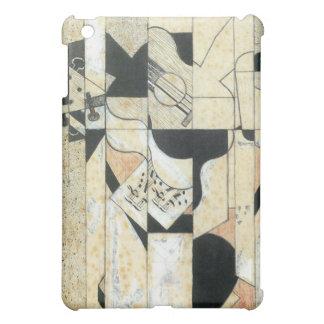 Juan Gris - Guitar and glass iPad Mini Cover