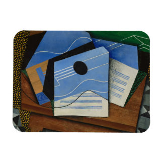 Juan Gris - Guitar on a Table Magnet