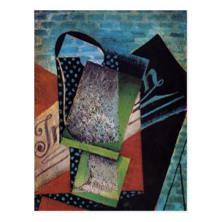 Juan Gris: Still Life Dedicated to Andre Salmon Postcard