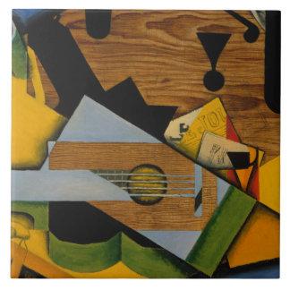 Juan Gris - Still Life with a Guitar Ceramic Tile