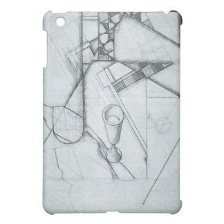 Juan Gris - Still Life with glass and board game iPad Mini Cover