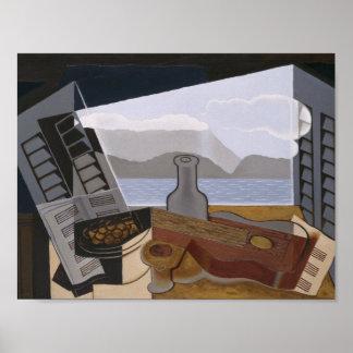Juan Gris - The Open Window Poster