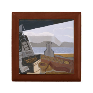 Juan Gris - The Open Window Small Square Gift Box