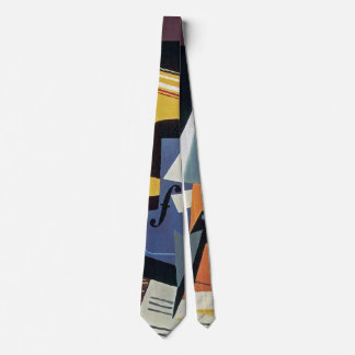 Juan Gris - Violin and Glass - Abstract Art Tie