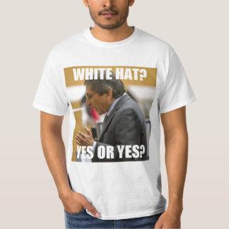 Juan Martinez White Hat? Yes or Yes? T-Shirt
