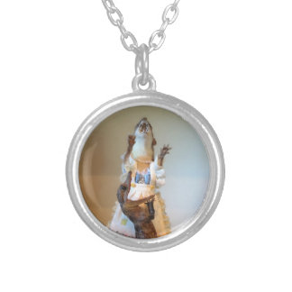 Juanita Weasel thinks you look FANTASTIC. Round Pendant Necklace