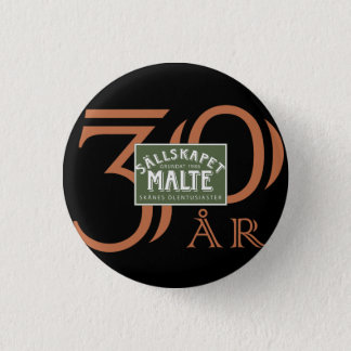 Jubileumsknapp 3 Cm Round Badge