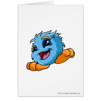 JubJub Blue Greeting Card
