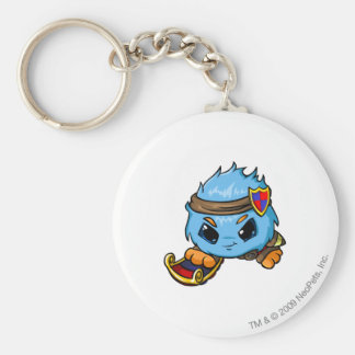 JubJub Meridell Player Basic Round Button Key Ring