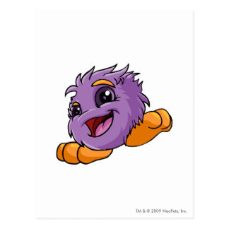 JubJub Purple Postcard