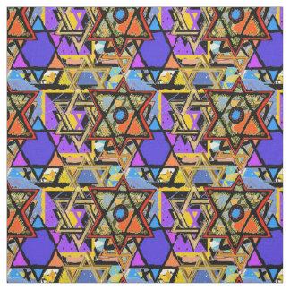 Judaic Customized Fabrics - Mogen David Gifts