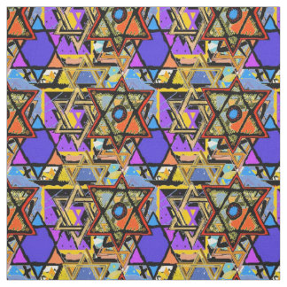 Judaic Customized Fabrics - Mogen David Gifts Fabric