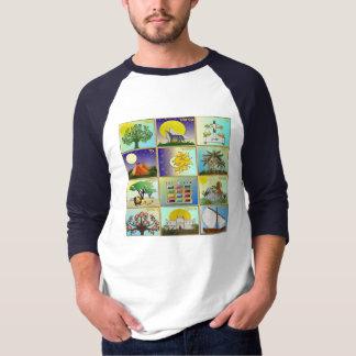 Judaica 12 Tribes Of Israel Art Print T-Shirt