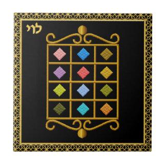 Judaica 12 Tribes of Israel Ceramic Tile - Levi