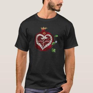 Judaica Pomegranate Heart Hanukkah Rosh Hashanah T-Shirt