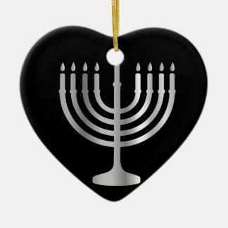 Judaism Menorah Ceramic Ornament