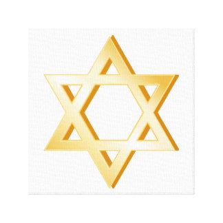 Judaism Symbol Canvas Print