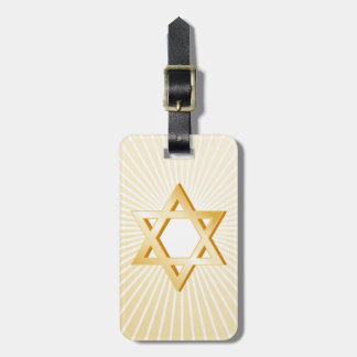 Judaism Symbol Luggage Tag
