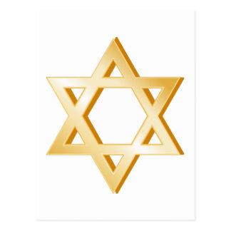 Judaism Symbol Postcard