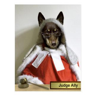 Judge Ally Postcard