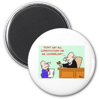 judge constitution magnet
