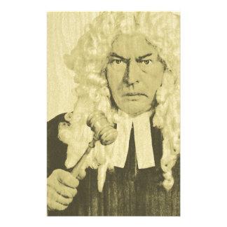 Judge Customised Stationery