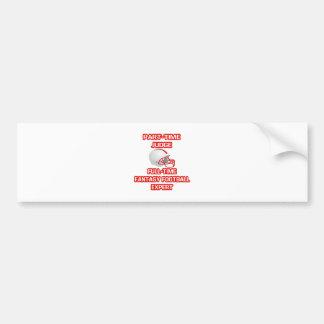 Judge .. Fantasy Football Expert Bumper Stickers