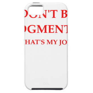 judge iPhone 5 cover