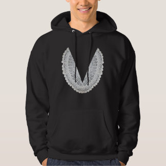Judge Judy Judging Robe Hoodie (straight doily)