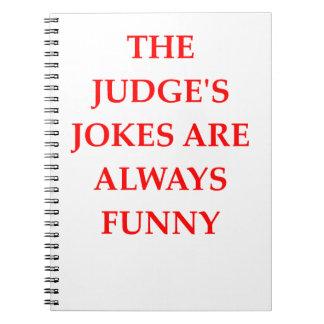 JUDGE NOTEBOOK