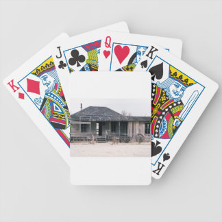 Judge Roy Bean Courthouse and Jail Replica Bicycle Playing Cards