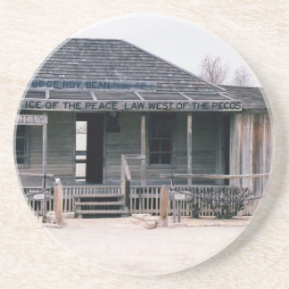 Judge Roy Bean Courthouse and Jail Replica Coaster
