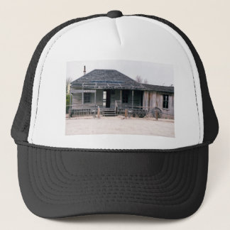 Judge Roy Bean Courthouse and Jail Replica Trucker Hat