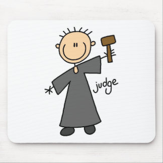 Judge Stick Figure Mousepad