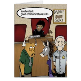 Judge Toler's Divorce Court Card