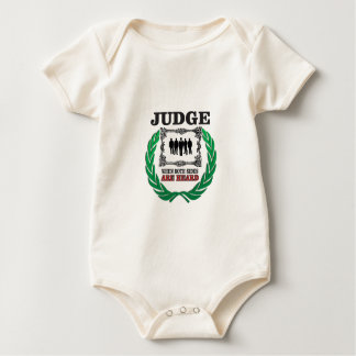 judge when you hear both sides baby bodysuit