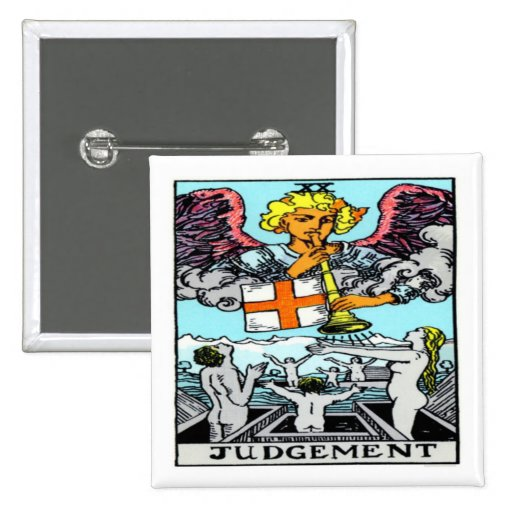 Judgement Pinback Buttons