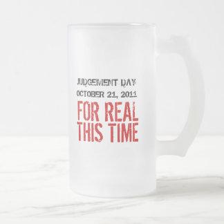 Judgement Day October 21, 2011 Frosted Mug