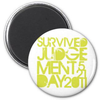 Judgement Day Survivor Refrigerator Magnet