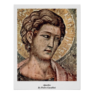 Judgement Detail: Apostles By Pietro Cavallini Posters