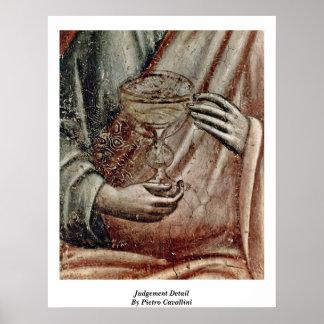 Judgement Detail By Pietro Cavallini Print