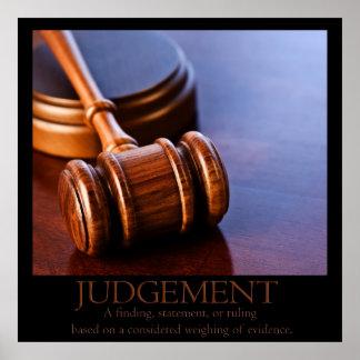Judgement Poster