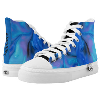 judgement printed shoes