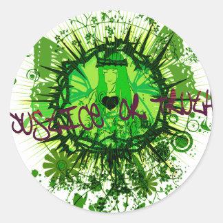 Judgement Round Sticker