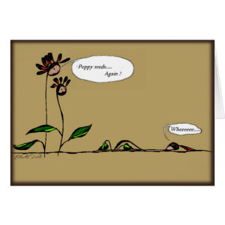 Judgemental Greeting Card