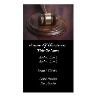 Judges Business Card